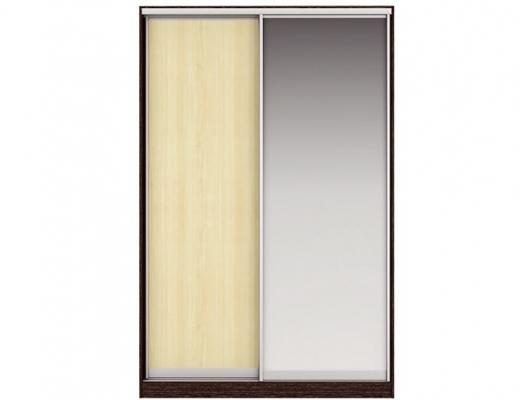 Шкаф купе Дуо-двухдверный с зеркалом