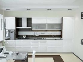 Кухня пластик Arpa (белое золото)
