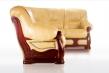 Кожаный диван КЛАССИКА 3+1(угол правый)
